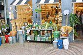 Household Goods In Store For Garden. Delft, Holland