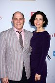Matthew Weinera and Linda Brettler at the WGA's 101 Best Written Series Announcement, Writers Guild