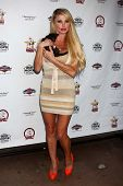 Taylor Wane at the Player Concert celebrating Devin DeVasquez 50th Birthday to benefit Shelter Hope