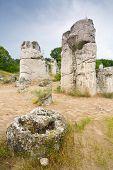 Phenomenon rock formations in Bulgaria around Beloslav - Pobiti kamani