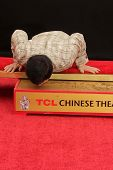 Jackie Chan at the Jackie Chan Hand and Foot Print Ceremony, TCL Chinese Theater, Hollywood, CA 06-0