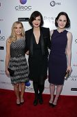 Joanne Froggatt, Elizabeth McGovern and  Michelle Dockery at