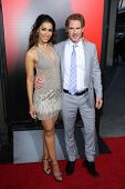 Janina Gavankar and Sam Trammell at the