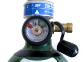 Oxygen Regulator And Pressure Dial