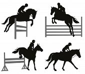 Equestrian sports set