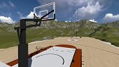 Street Basketball Board