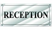 Vector Reception Sign