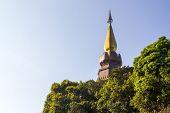 King And Queen Pagoda (noppha Methanidon And Noppha Phon Phum Siri Stupa)