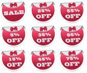 Sale, discount labels, badges, stickers