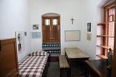 KOLKATA, INDIA - FEBRUARY 07: The former room of Mother Teresa at Mother House in Kolkata, West Beng