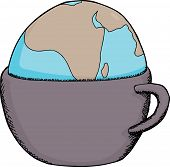 Drinking Cup Globe