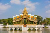 Bang-pa-in Royal palace -Thai Temple
