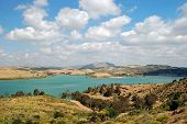Guadalhorse lake, Andalusia.