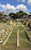 Famous Ancient Roman Forum, Rome, Italy