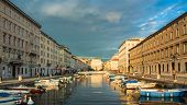 Ponte Rosso View In Trieste