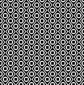Geometric Pattern With Circles, Rhombuses And Squares
