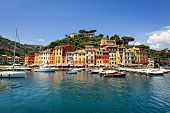 Beautiful Portofino on the Italian Riviera.