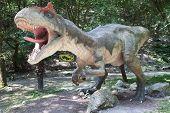 Realistic Model Of Dinosaur Allosaurus