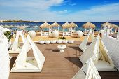 Beach At The Luxury Hotel, Sharm El Sheikh, Egypt