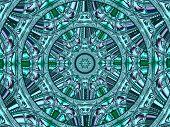 Creative Background. Kaleidoscope.  A Wonderful Harmony Of Colors. A-0074.