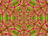 Creative Background. Kaleidoscope.  A Wonderful Harmony Of Colors. A-0072.