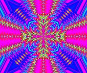 Creative Background. Kaleidoscope.  A Wonderful Harmony Of Colors. A-0081.
