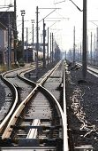 New railway tracks