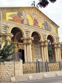 Jerusalem Church Of All Nations Facade 2012