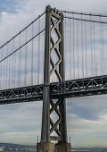 San Francisco - Oakland Bay Bridge´s tower