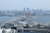Port Island Kobe city view Japan