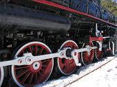 Old Russian  Locomotive