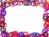 Colorful Rubber Band Frame.