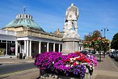 Montpellier Rotunda and statue, Cheltenham.