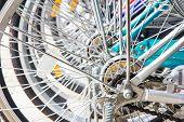 Wheel Detail Of Bikes