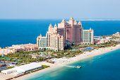 Dubai, Uae. Atlantis Hotel From Above