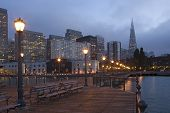 San Francisco Waterfront at Night