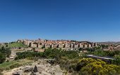 Panoramic View Of Avila, Spain