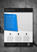 picture of prospectus  - Creative business flyer template  - JPG