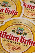 Beermats From Weitra Brau Beer