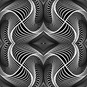 foto of distortion  - Design monochrome decorative background - JPG