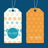 Vector texture circles stripes abstract vertical round frame pattern tags set