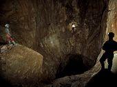 Cavers in TITAN