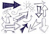 Doodle pijl Set