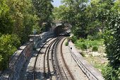Athens Underground Metro Transport Photo