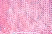 Seamless Pink Steel Diamond Plate Texture