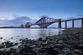 die forth Bridge Schiene
