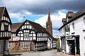 Timbered buildings, Weobley.