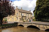 Stone footbridge, Bourton on the Water.