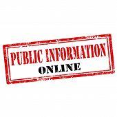 Public Information Online