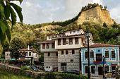 View to ancient Melnik town, Bulgaria